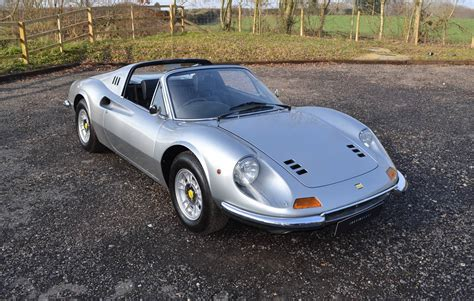 1973 ferrari dino 246 gts, power windows & air conditioning, chairs & flares. For Sale: Ferrari Dino 246 GTS (1973) offered for GBP 374,995