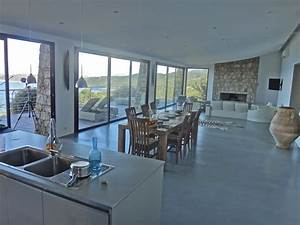 Deco Piece A Vivre Avec Cuisine Ouverte : location villa de luxe en corse une vue panoramique ~ Premium-room.com Idées de Décoration