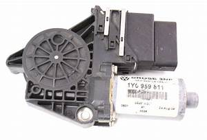 Lh Rear Window Motor 03-10 Vw Beetle Convertible - Genuine Oe