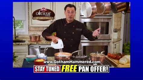 gotham steel hammered collection tv commercial  egg pan  ispottv
