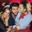 Miley and Liam With Leonie Hemsworth | Miley Cyrus and ...