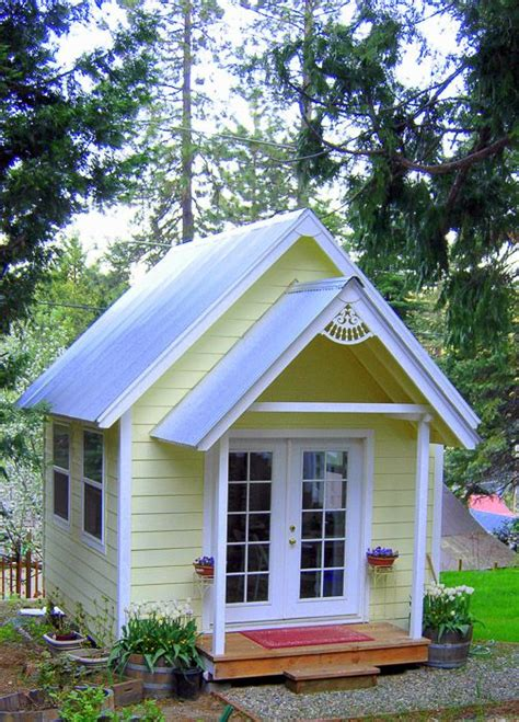 Build Your Own Crafting Cottage Or Garden Shed  Små Hus