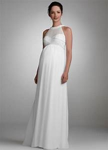 Maternity wedding gown the wedding dresses for Pregnancy dresses for wedding