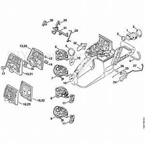 Stihl 036 Chainsaw  036  Parts Diagram  Air Filter