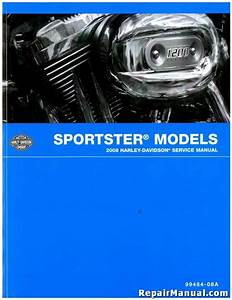 2008 Harley Davidson Sportster Motorcycle Service Manual