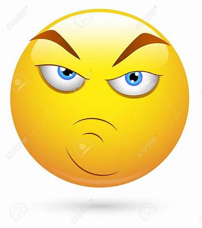 Serious Face Clipart Attitude Emoji Cartoon Smiley