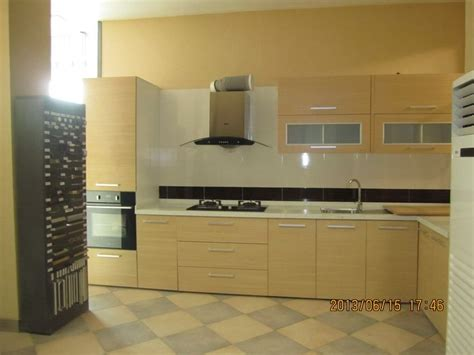 oppein  shaped kitchen cabinet  accra showroom oppein