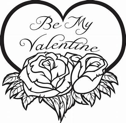 Coloring Valentine Printable