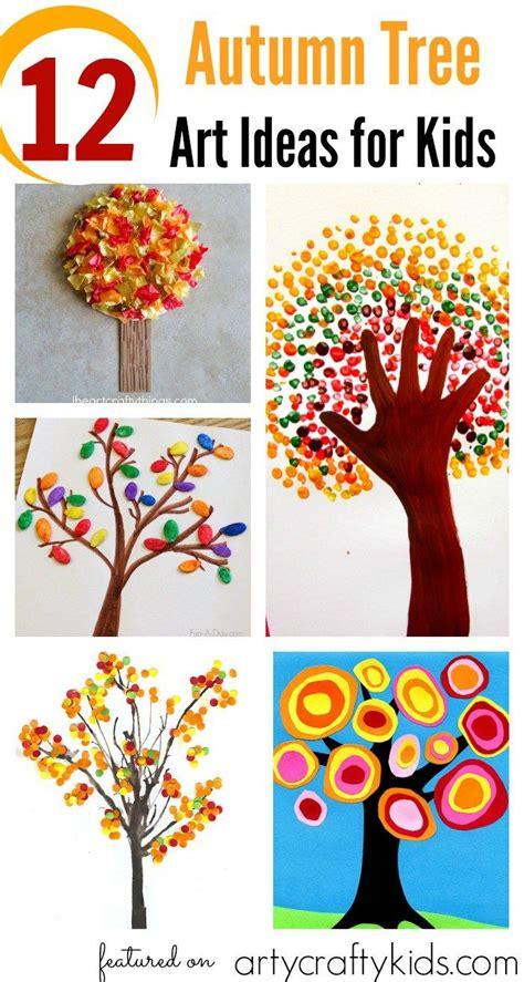 Herbst Kindergarten by 12 Autumn Tree Ideas For Kunst In Der Schule