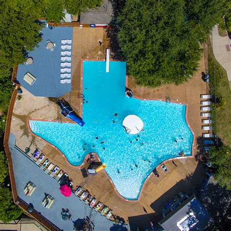 Facts+firsts Iconic Texasshaped Pool » Dallas Innovates