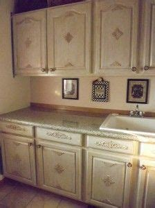 wood appliques for kitchen cabinets crowned acanthus with ornate corners on kitchen cabinet 1928