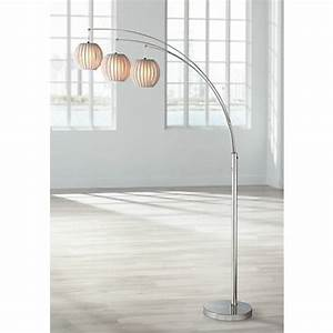 lite source deion 3 light hanging arc floor lamp n1912 With deion 5 light hanging arc floor lamp