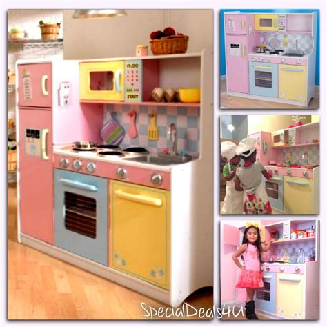 Kitchen Play Set by Pretend Play Kitchen Playset Cooking Imagination Food