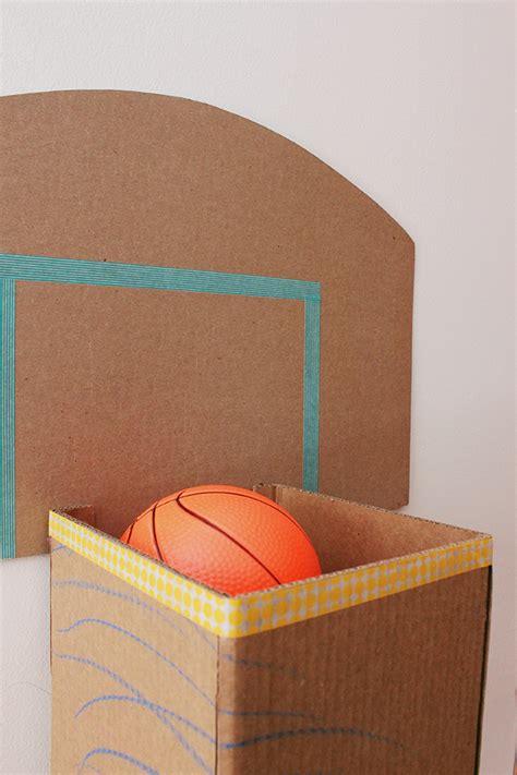 cardboard basketball hoop caitlin betsy bell