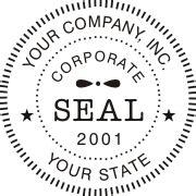 corporate seal template corporate digital seals