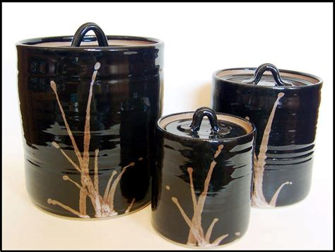 black kitchen canister awesome kitchen black canister sets for kitchen with