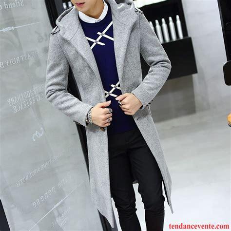 manteau blouson homme homme mode coupe vent slim longue