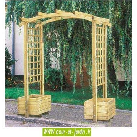 pergola avec banc de jardin arche de jardin en bois arcade pergola de jardin