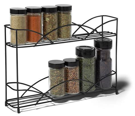 wall spice rack two tier black wall mount spice rack in spice racks