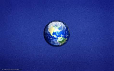 Download Wallpaper Land, Planet, Blue, Minimalism Free