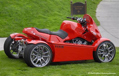 Gg Quadster Quad Motorcycle Bmw 4-wheeled Motorcycle Built