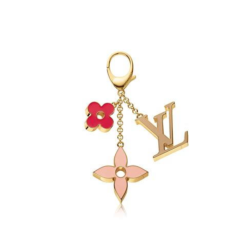 fleur de monogram bag charm accessories louis vuitton