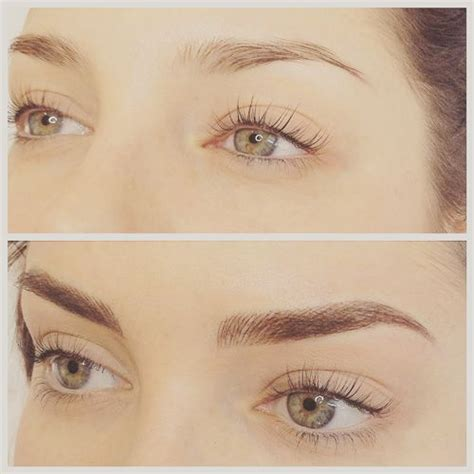eyebrow feathering ideas  pinterest feather