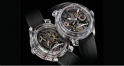 Dollar Million Forsey Greubel Forged Transparent Watches
