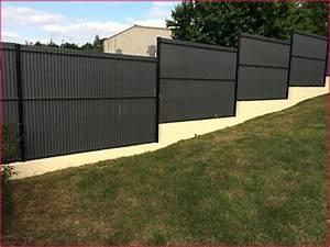 Cloture Pas Cher : cloture rigide noir galerie et grillage rigide noir images ~ Melissatoandfro.com Idées de Décoration