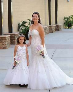 mother and daughter matching wedding dresses hot girls With matching mother daughter wedding dresses