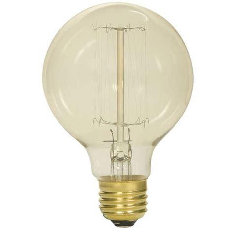 vintage edison g25 globe light bulb