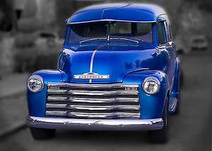U0026quot 1950 Chevy Panel Truck U0026quot  Posters By Lynn Geoffroy