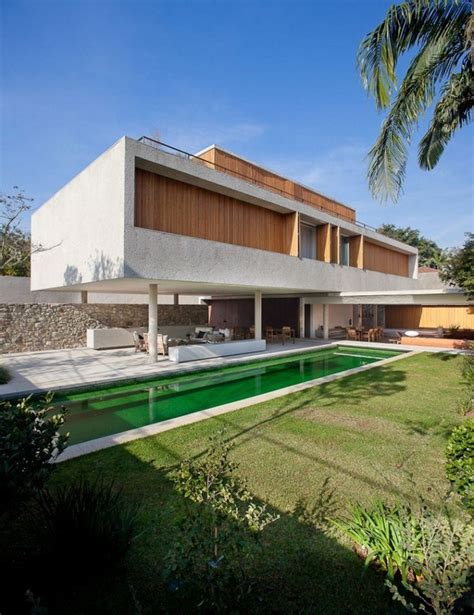 Modern Home In Brazil Displaying Unique Architecture