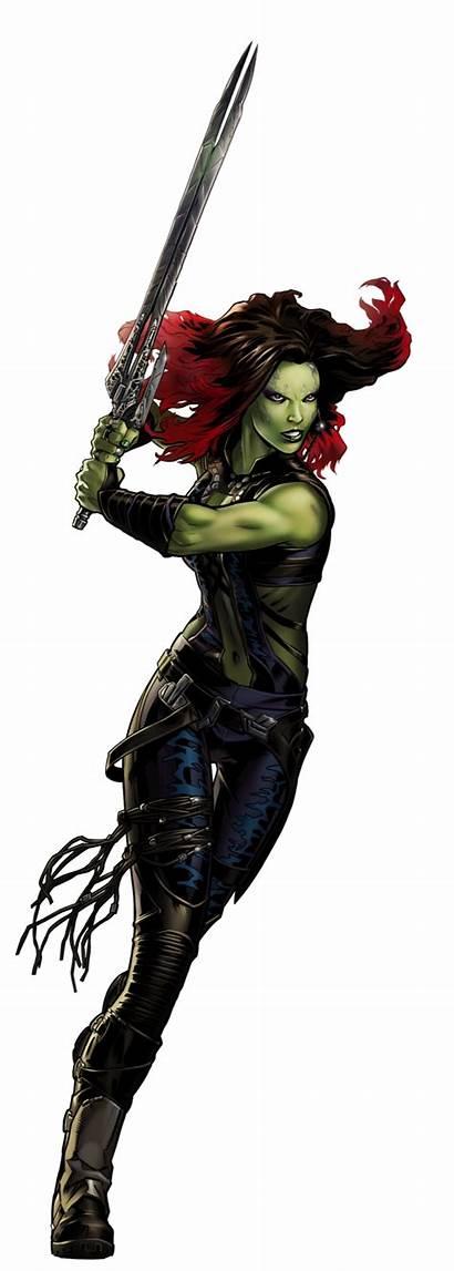 Gamora Marvel Avengers Alliance Guardians Galaxy Comic