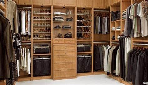 Wooden Closet Organizers  Adding Elegance To Your Home