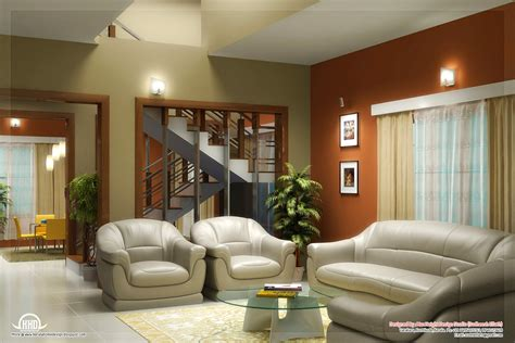 Home Interior Design : Beautiful Living Room Rendering