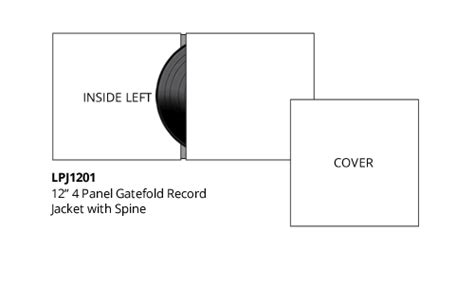 Cd Cover Measures Template by Vinyl Templates