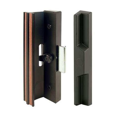 prime  black aluminum  diecast sliding door handle