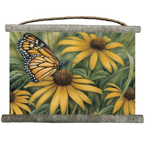 The migration of monarch butterflies through the california redwood forests is a majestic sight. Monarch Butterfly Wall Hanging   Canvas   Decor   Wall Art