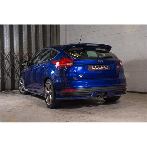 Ford Performance Exhaust Focus St by Ford Focus St Tdci Rear Performance Exhaust System