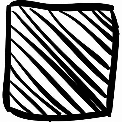 Square Sketch Vector Shapes Icons Icon