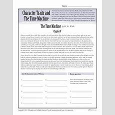 Character Traits Worksheets  The Time Machine