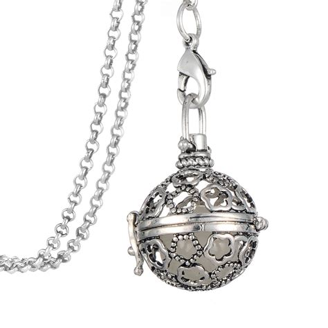 aromatherapy locket necklace aromatherapy essential diffuser necklace locket or
