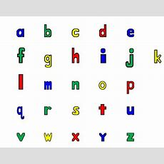 Alphabet Teaching Through Visual Cards  School Of Educators