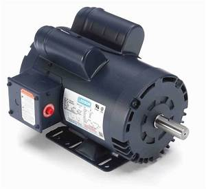 5 Hp 3450 Rpm 145t 230v Air Compressor Motor Leeson   120554