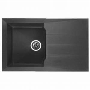 Evier Noir 1 Bac : tout faire sablemat mat riaux vente de mat riaux de ~ Dailycaller-alerts.com Idées de Décoration