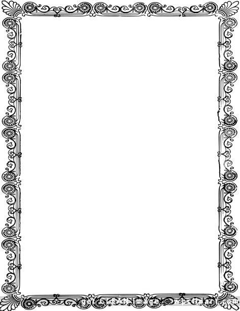 ornate  frame page borders design borders  frames