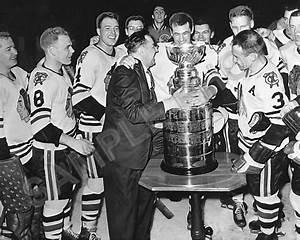 1961 Chicago Blackhawks Stanley Cup Champions Presentation