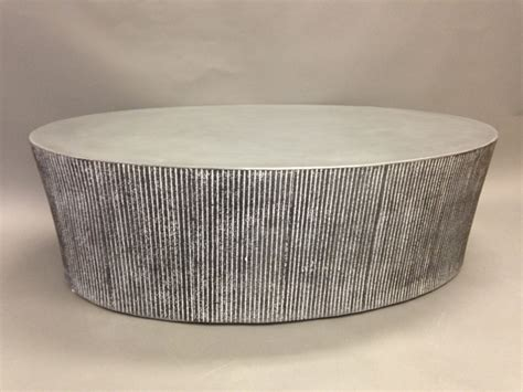 oval concrete coffee table tables bases stools creative concrete furniture