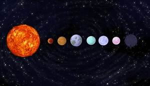 Colors of Planets for Solar System Project - Pics about space